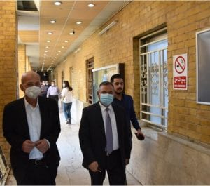 University Rector Visits College of Medicine at Beginning of the New Academic Year