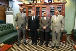 Rector of University Receives Al-Mustansiriya and Al-Karkh for Sciences Universities Rectors